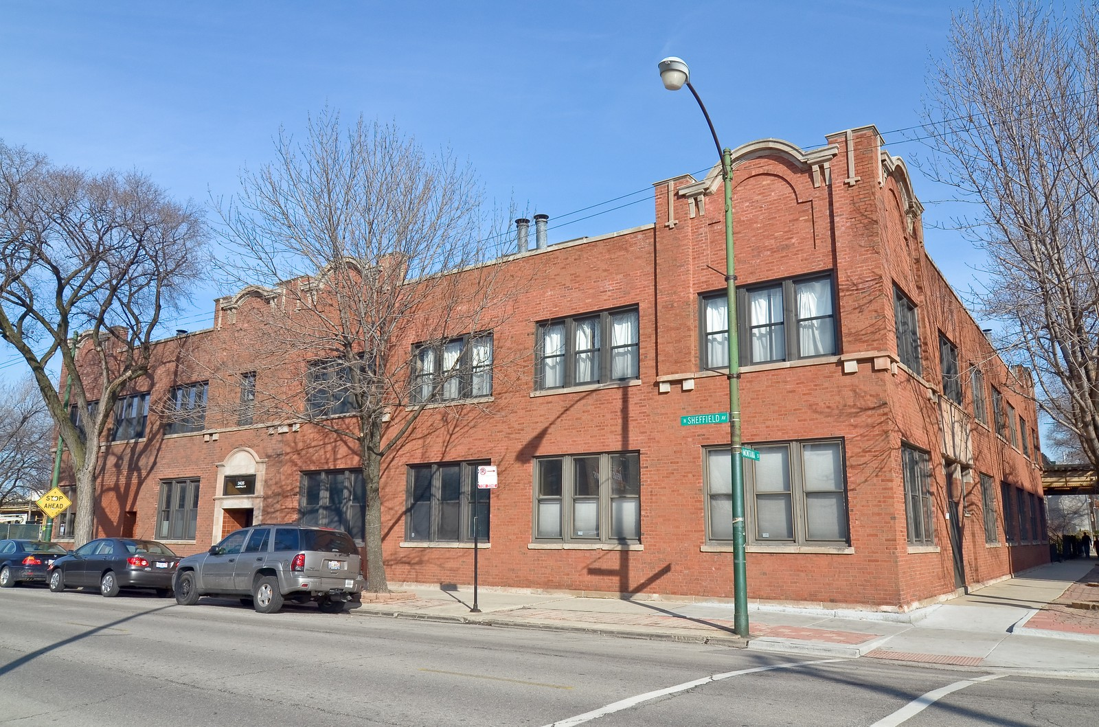 Real Estate Photography - 2435 N. Sheffield, 9, Chicago, IL, 60614 - Front View