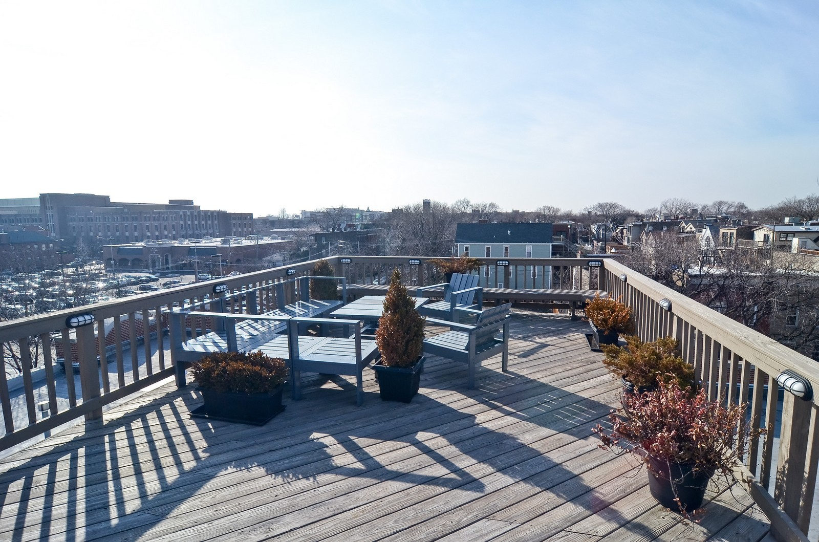 Real Estate Photography - 2435 N. Sheffield, 9, Chicago, IL, 60614 - Deck