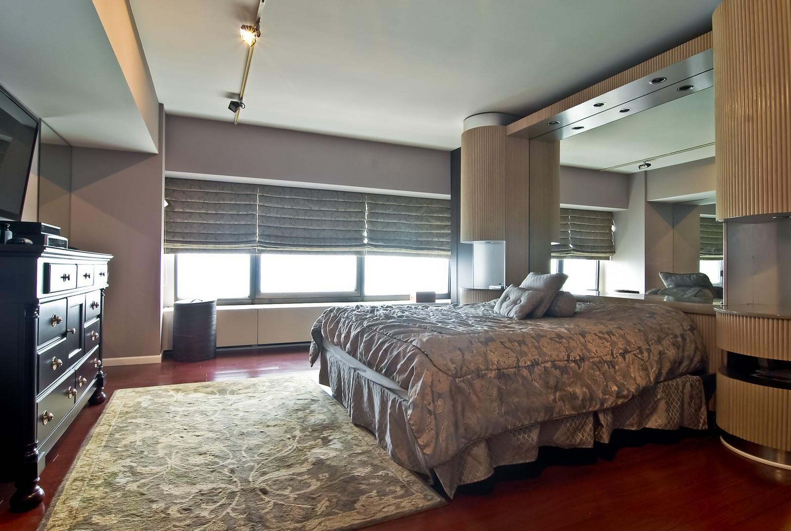 Real Estate Photography - 175 E Delaware, Unit 6507, Chicago, IL, 60611 - Master Bedroom