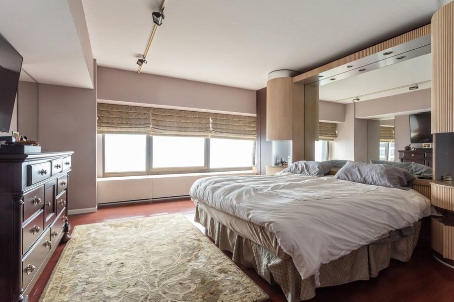 Real Estate Photography - 175 E Delaware, Unit 6507, Chicago, IL, 60611 - Bedroom