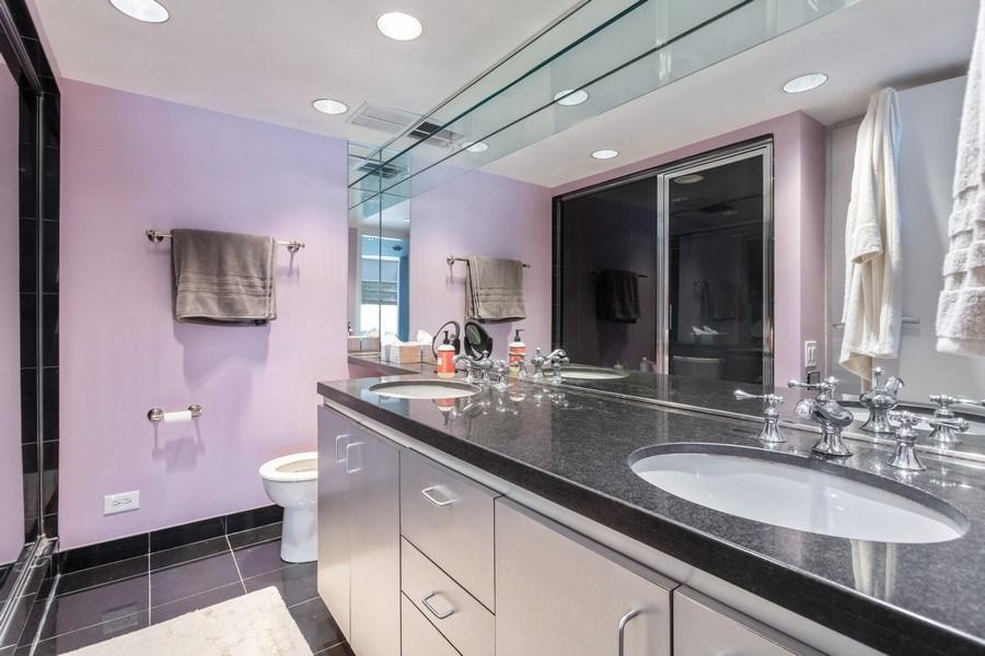 Real Estate Photography - 175 E Delaware, Unit 6507, Chicago, IL, 60611 - Bathroom