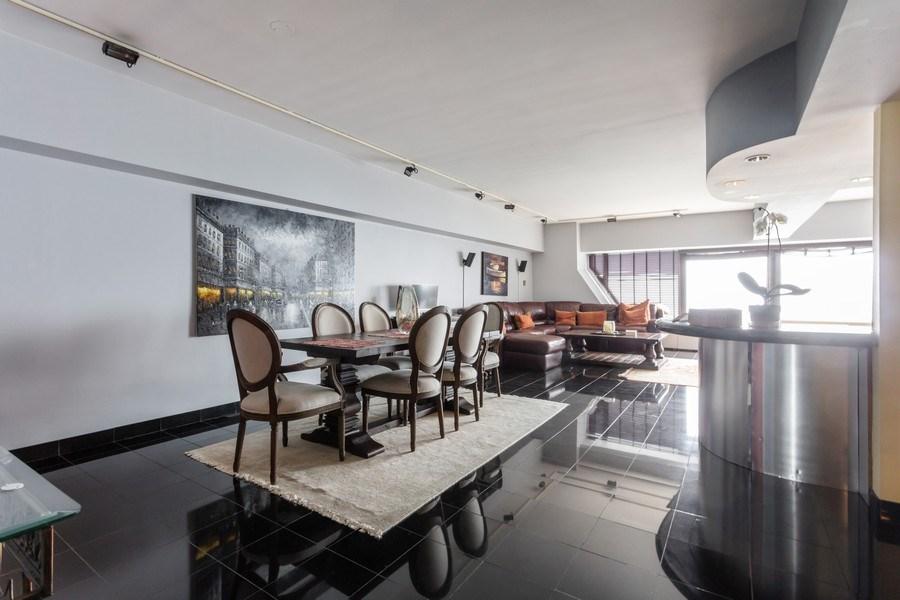 Real Estate Photography - 175 E Delaware, Unit 6507, Chicago, IL, 60611 - Dining Area
