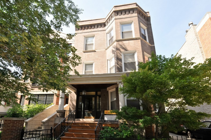 Real Estate Photography - 2420  Southport Ave, Unit 1R, Chicago, IL, 60614 - Front View