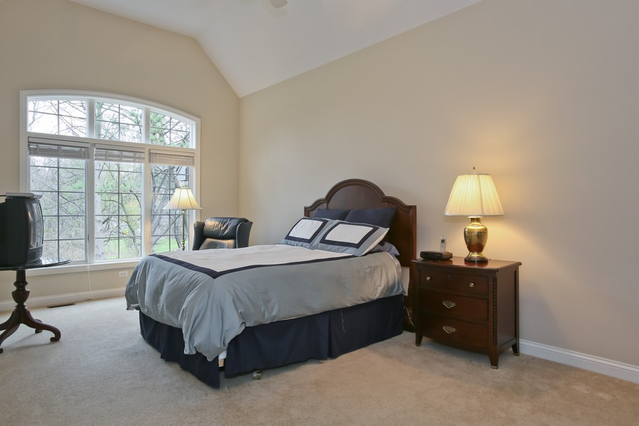 Real Estate Photography - 5613 Durand, Downers Grove, IL, 60515 - Master Bedroom