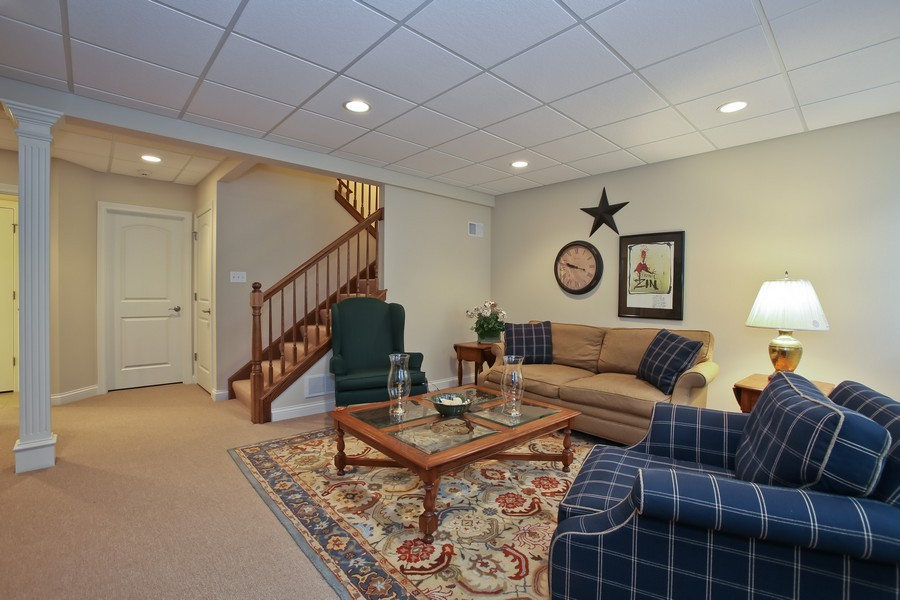 Real Estate Photography - 5613 Durand, Downers Grove, IL, 60515 - Lower Level
