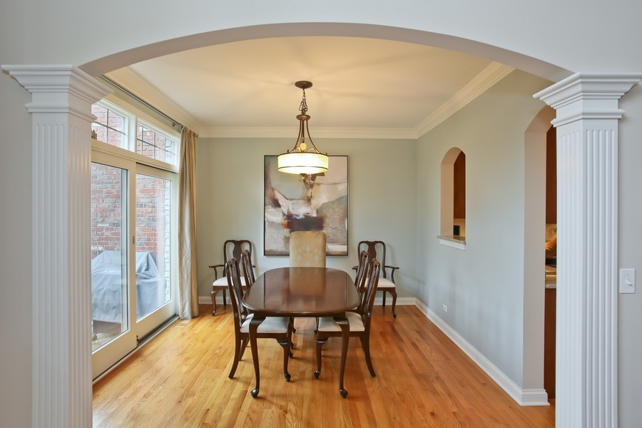 Real Estate Photography - 5613 Durand, Downers Grove, IL, 60515 - Dining Room