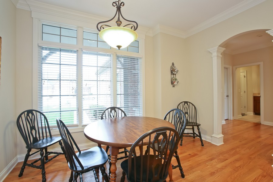 Real Estate Photography - 5613 Durand, Downers Grove, IL, 60515 - Breakfast Area