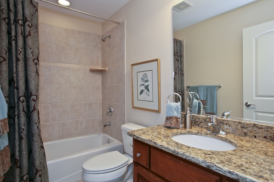Real Estate Photography - 5613 Durand, Downers Grove, IL, 60515 - Bathroom