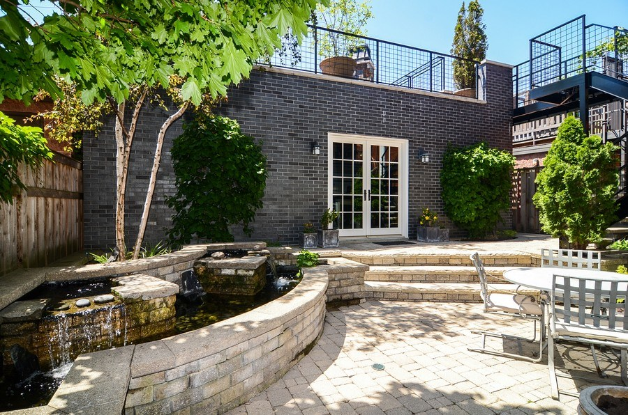 Real Estate Photography - 1710 N Orchard, Chicago, IL, 60614 - Patio