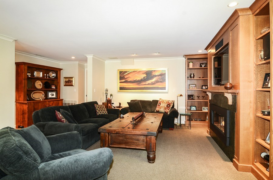 Real Estate Photography - 1710 N Orchard, Chicago, IL, 60614 - Family Room