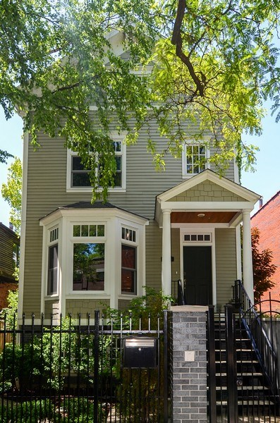 Real Estate Photography - 1710 N Orchard, Chicago, IL, 60614 - Front View