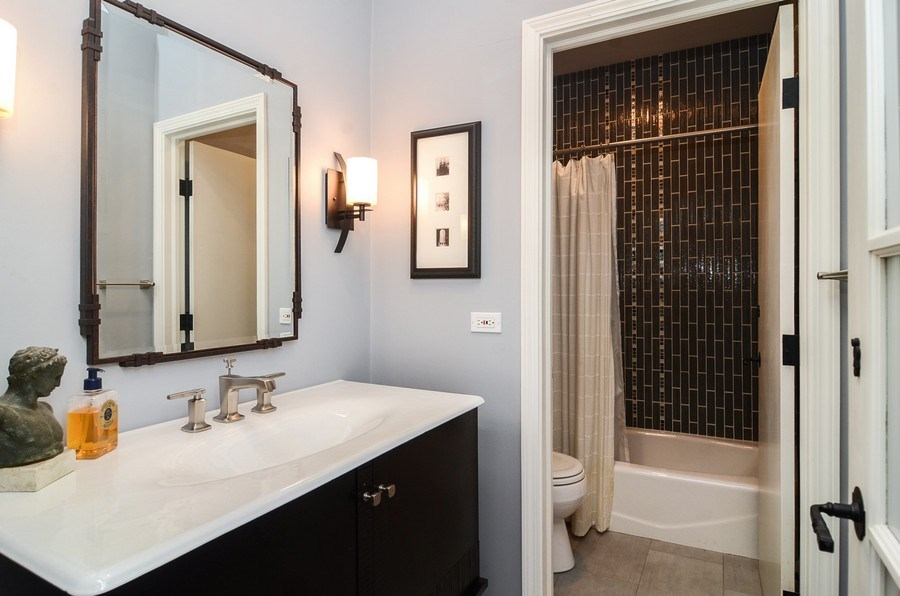 Real Estate Photography - 1710 N Orchard, Chicago, IL, 60614 - Bathroom