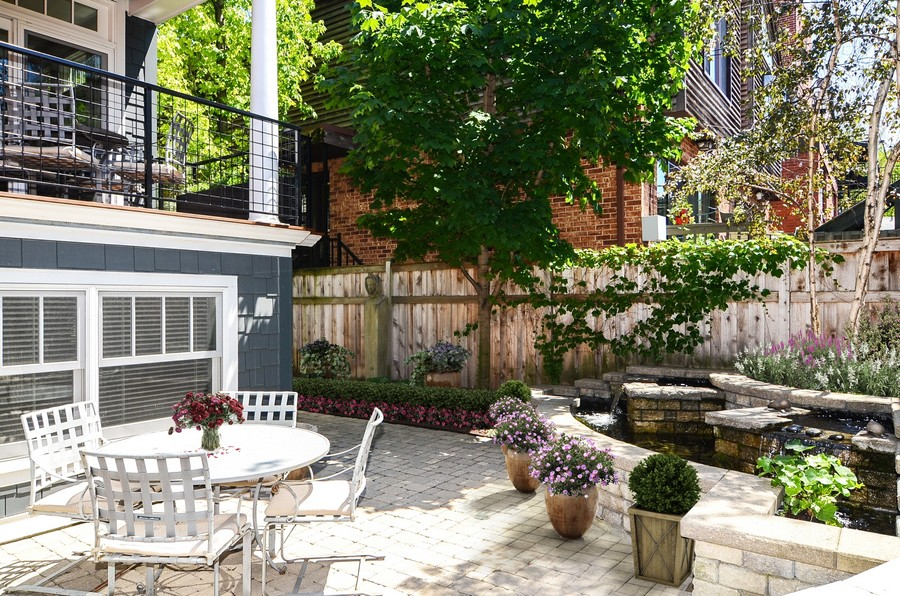 Real Estate Photography - 1710 N Orchard, Chicago, IL, 60614 - Yard/Garden