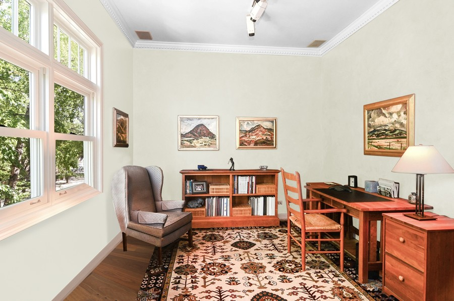 Real Estate Photography - 1710 N Orchard, Chicago, IL, 60614 - 3rd Bedroom/Office