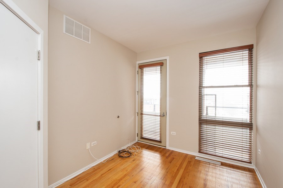 Real Estate Photography - 324 N Jefferson St, Unit #307, Chicago, IL, 60661 - 2nd Bedroom