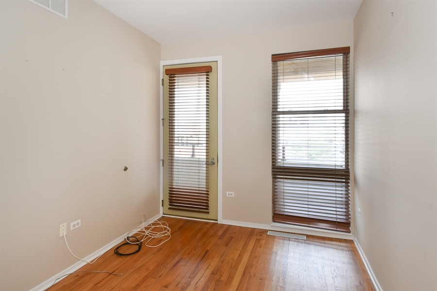 Real Estate Photography - 324 N Jefferson St, Unit #307, Chicago, IL, 60661 - 3rd Bedroom