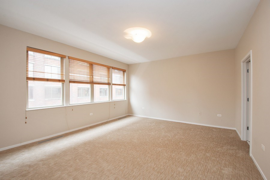 Real Estate Photography - 324 N Jefferson St, Unit #307, Chicago, IL, 60661 - Master Bedroom