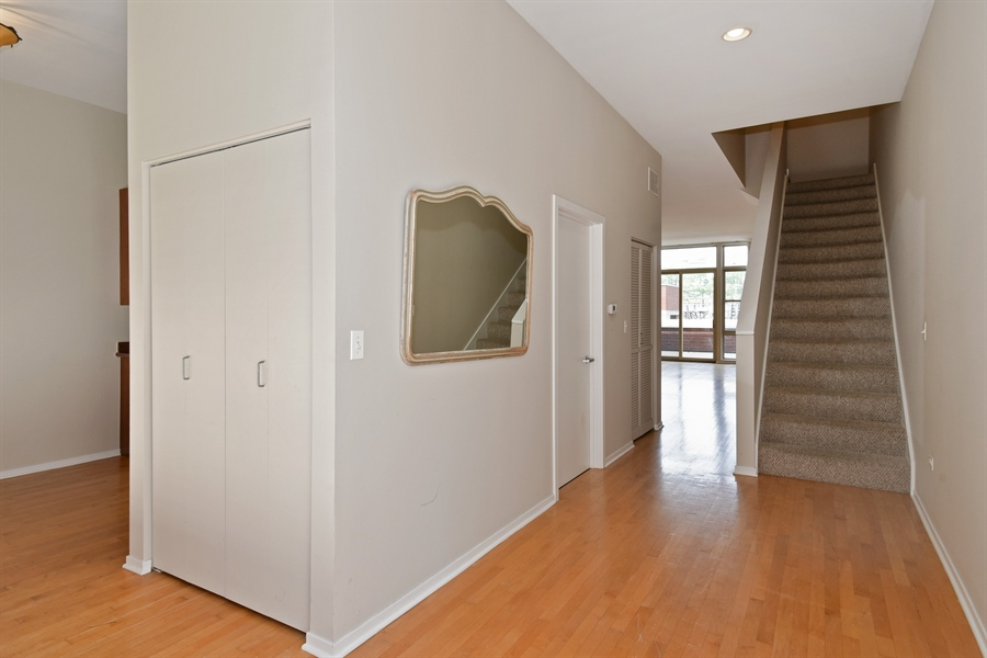 Real Estate Photography - 324 N Jefferson St, Unit #307, Chicago, IL, 60661 - Foyer
