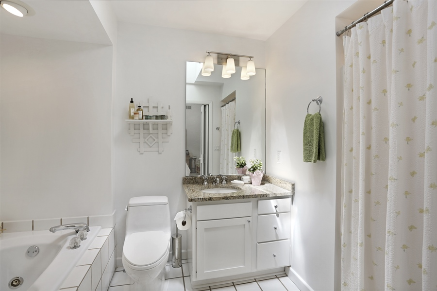 Real Estate Photography - 9440 California, Union Pier, MI, 49129 - Master Bathroom