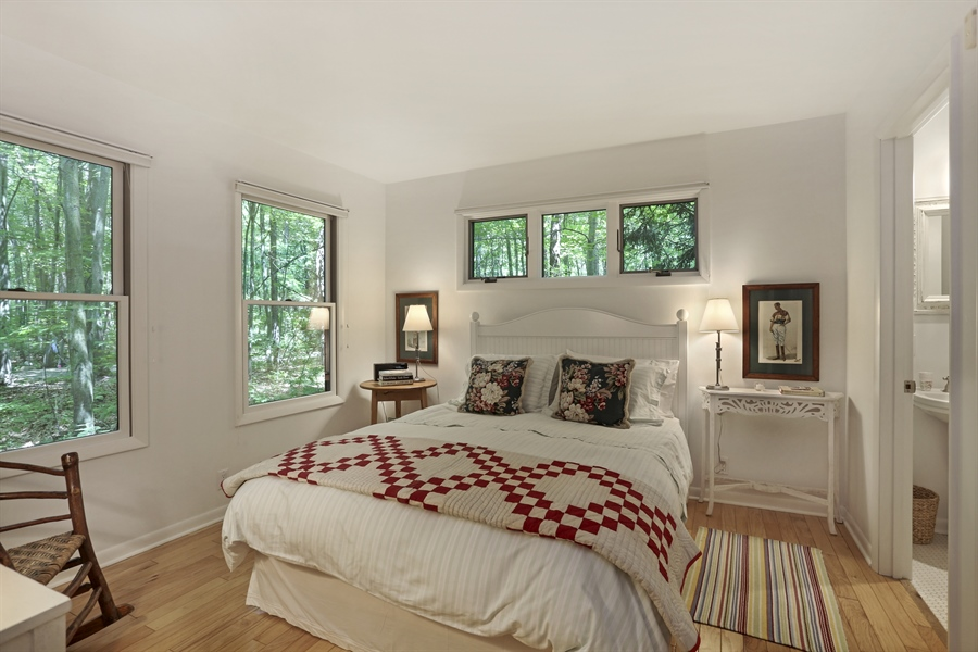 Real Estate Photography - 9440 California, Union Pier, MI, 49129 - Guest House Bedroom