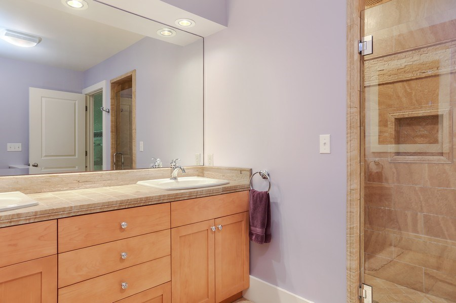 Real Estate Photography - 15987 Bittersweet Lane, Union Pier, MI, 49129 - Master Bathroom