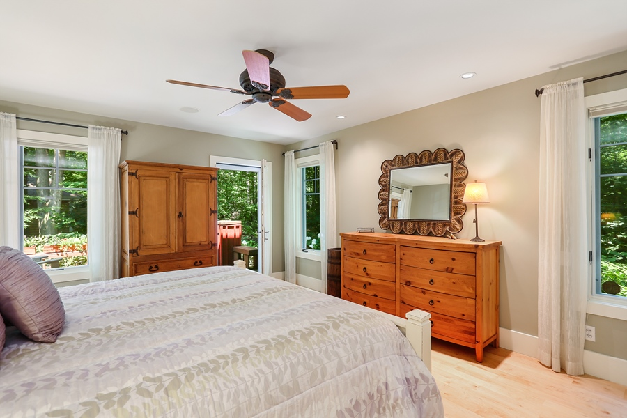 Real Estate Photography - 15987 Bittersweet Lane, Union Pier, MI, 49129 - Master Bedroom