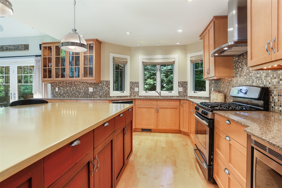 Real Estate Photography - 15987 Bittersweet Lane, Union Pier, MI, 49129 - Kitchen