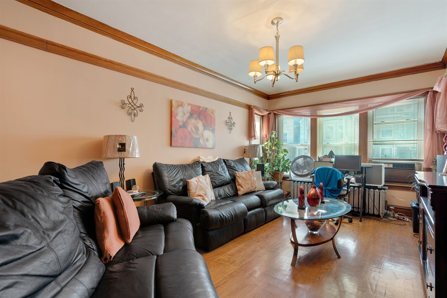 Real Estate Photography - 3742 W Diversey, Chicago, IL, 60647 - Family Room