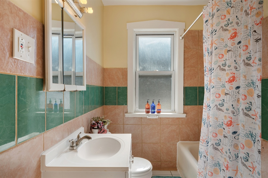 Real Estate Photography - 3742 W Diversey, Chicago, IL, 60647 - Bathroom