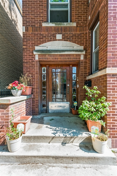 Real Estate Photography - 3742 W Diversey, Chicago, IL, 60647 - Entryway