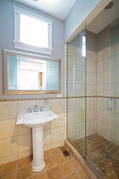 Real Estate Photography - 2335 N. Southport, Chicago, IL, 60614 - 3rd Bathroom