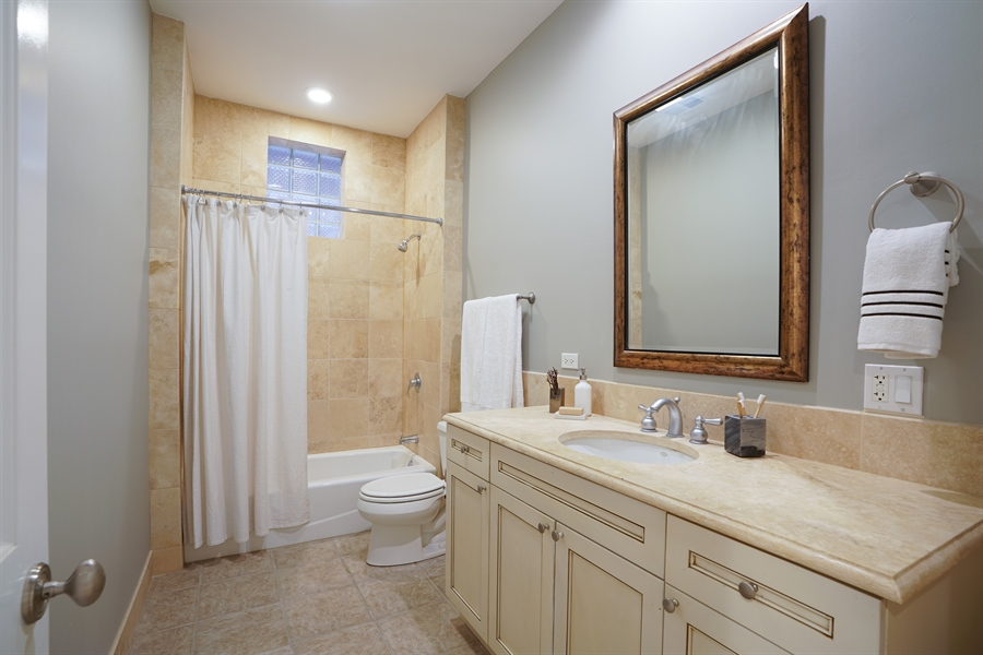Real Estate Photography - 2335 N. Southport, Chicago, IL, 60614 - 4th Bathroom