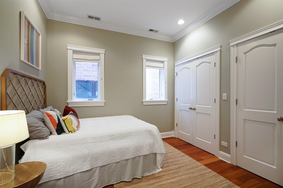 Real Estate Photography - 2335 N. Southport, Chicago, IL, 60614 - 3rd Bedroom