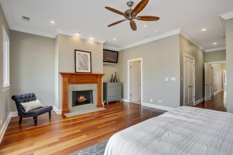 Real Estate Photography - 2335 N. Southport, Chicago, IL, 60614 - Master Bedroom