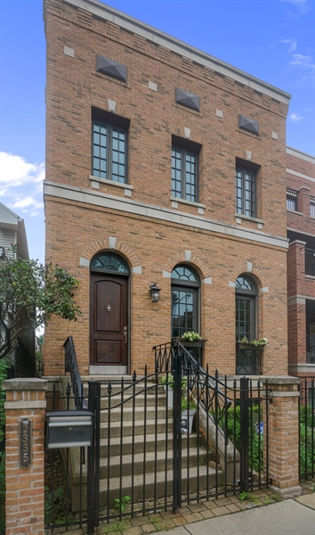 Real Estate Photography - 2335 N. Southport, Chicago, IL, 60614 - Front View