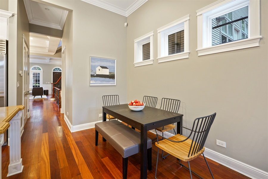 Real Estate Photography - 2335 N. Southport, Chicago, IL, 60614 - Dining Area