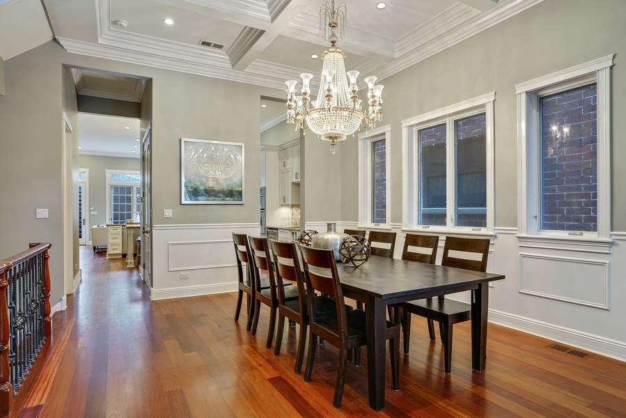 Real Estate Photography - 2335 N. Southport, Chicago, IL, 60614 - Dining Room