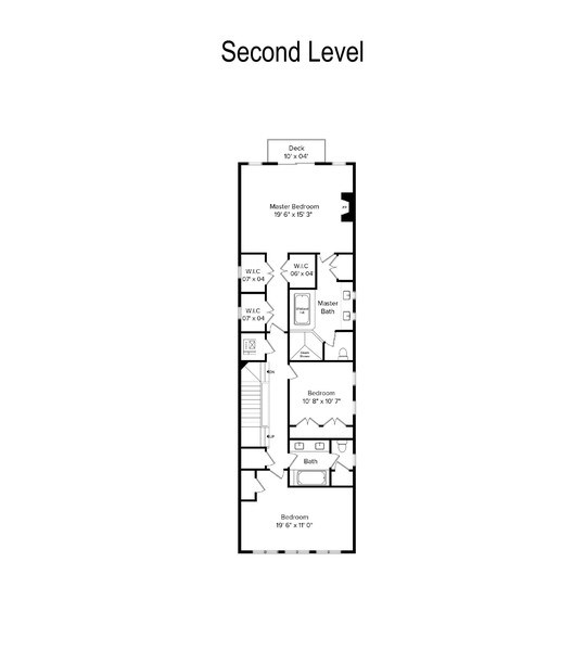 Real Estate Photography - 2335 N. Southport, Chicago, IL, 60614 - Floor Plan