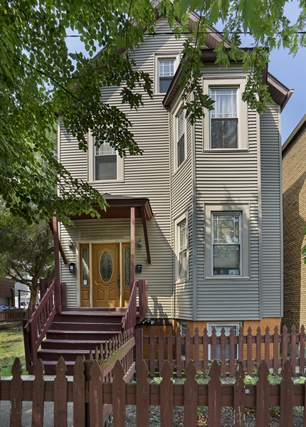Real Estate Photography - 1914 N Rockwell, Chicago, IL, 60647 - Front View