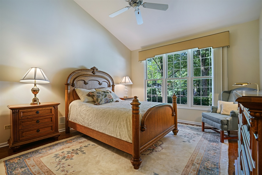Real Estate Photography - 2118 Trowbridge Ct, Glenview, IL, 60026 - Master Bedroom