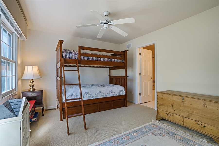 Real Estate Photography - 2118 Trowbridge Ct, Glenview, IL, 60026 - 2nd Bedroom