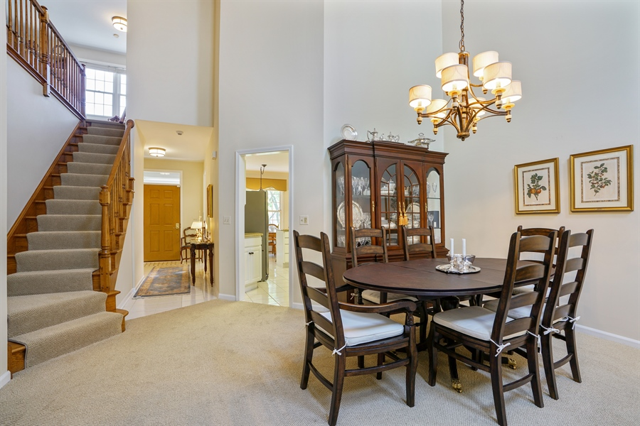 Real Estate Photography - 2118 Trowbridge Ct, Glenview, IL, 60026 - Dining Room