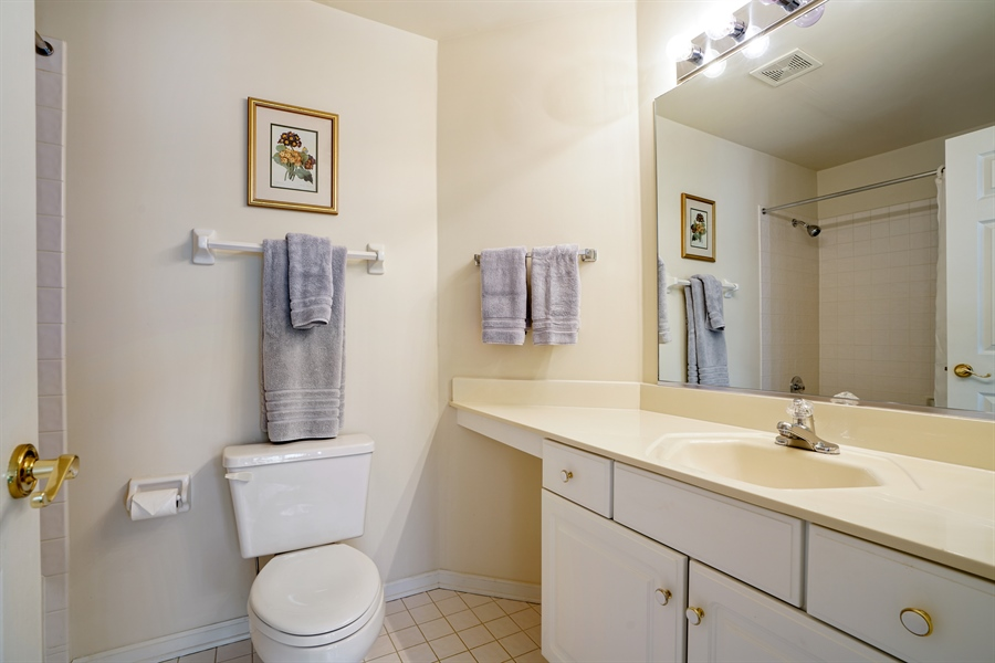 Real Estate Photography - 2118 Trowbridge Ct, Glenview, IL, 60026 - 2nd Bathroom