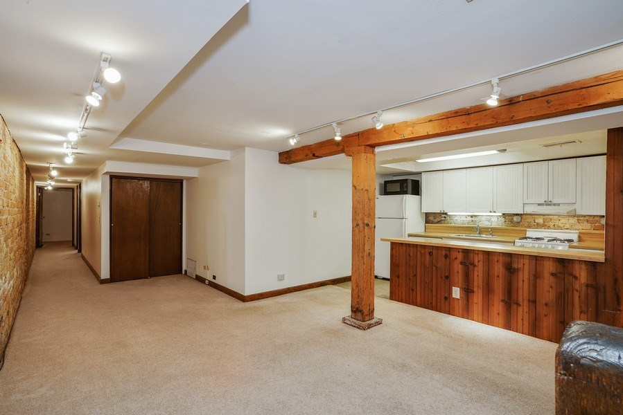 Real Estate Photography - 419 W. Webster, #G, Chicago, IL, 60614 - Living Room