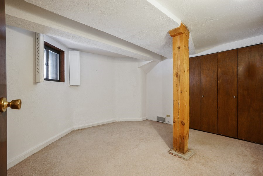 Real Estate Photography - 419 W. Webster, #G, Chicago, IL, 60614 - 2nd Bedroom