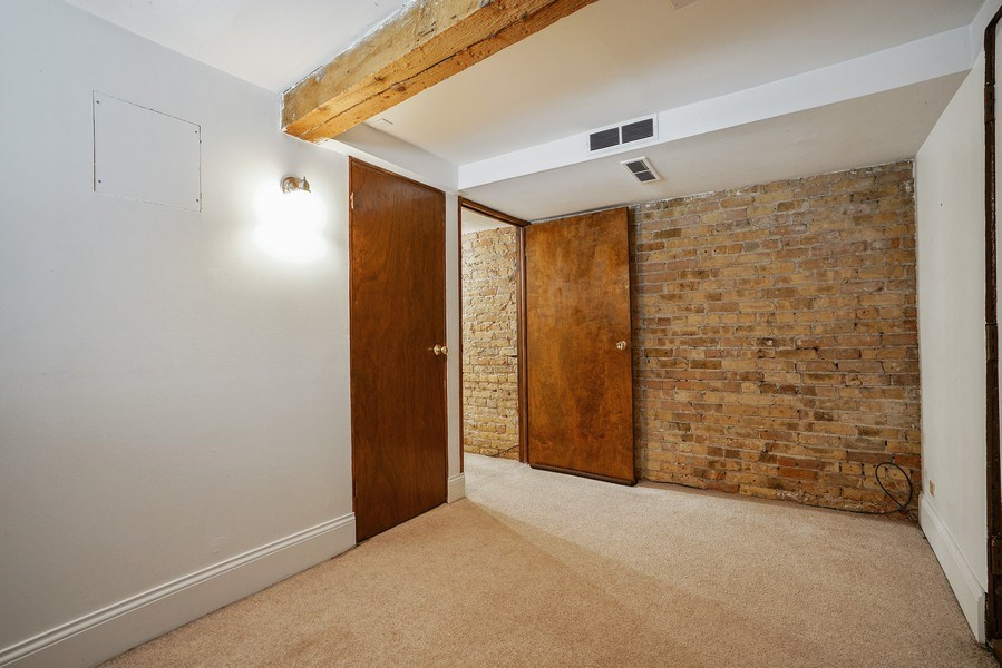 Real Estate Photography - 419 W. Webster, #G, Chicago, IL, 60614 - Bedroom