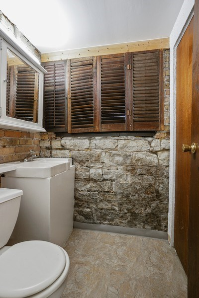 Real Estate Photography - 419 W. Webster, #G, Chicago, IL, 60614 - 2nd Bathroom