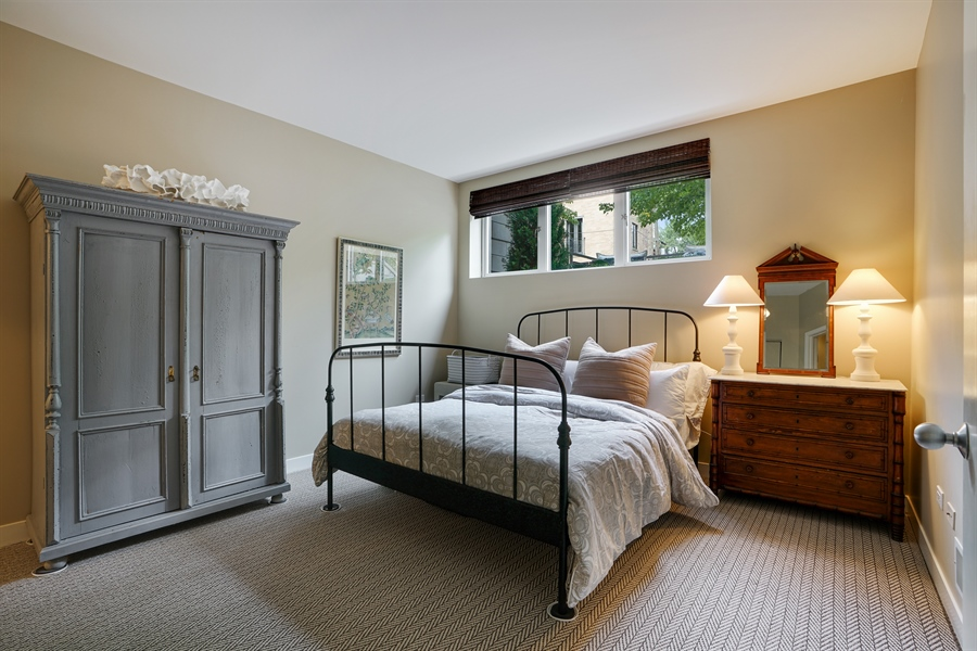 Real Estate Photography - 2145 W Churchill St, Chicago, IL, 60647 - 3rd Bedroom