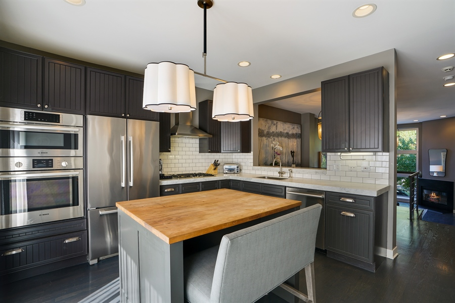Real Estate Photography - 2145 W Churchill St, Chicago, IL, 60647 - Kitchen