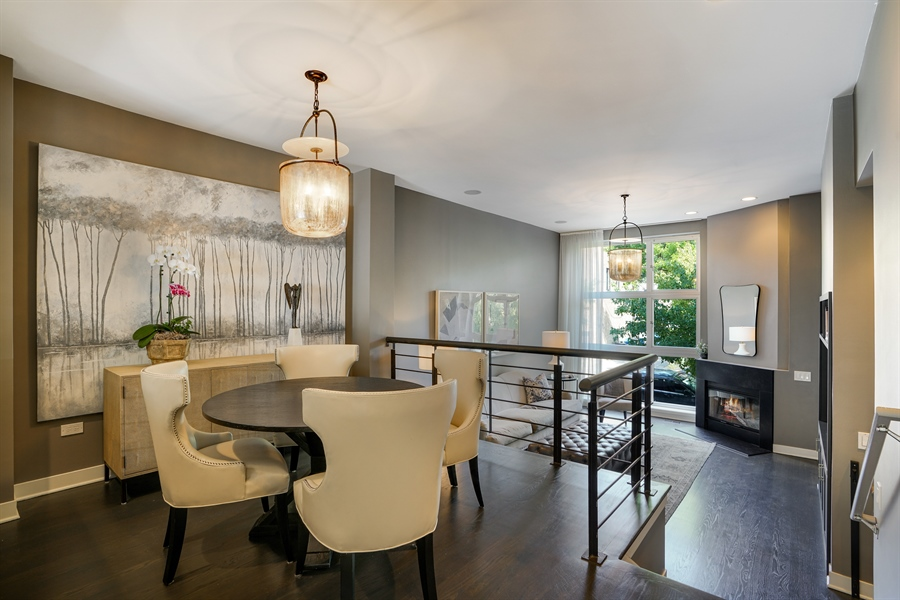 Real Estate Photography - 2145 W Churchill St, Chicago, IL, 60647 - Dining Room